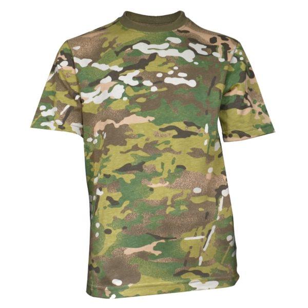 Koszulka Morowo Junior Multicamo