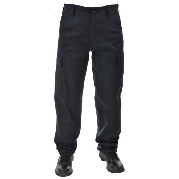 Spodnie BDU PLUS Czarne Ripstop