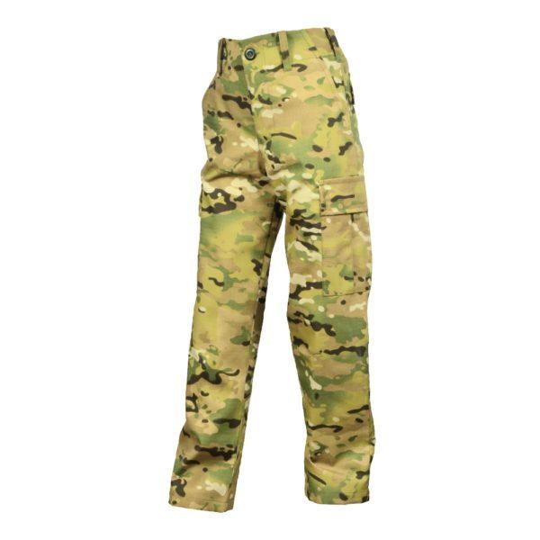 Spodnie Bojówki Junior Multicamo
