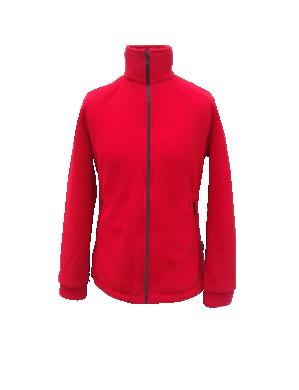 Bluza Polar Damski Czerwony