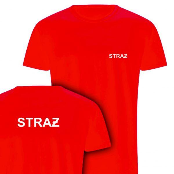 Koszulka czerwona STRAŻ