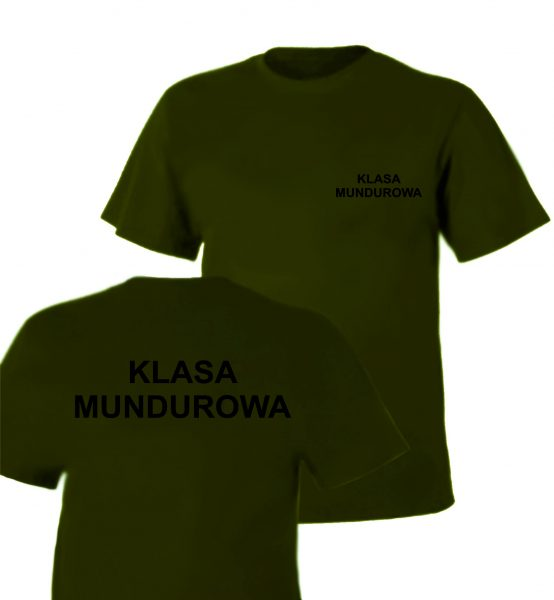Koszulka olive KLASA MUNDUROWA