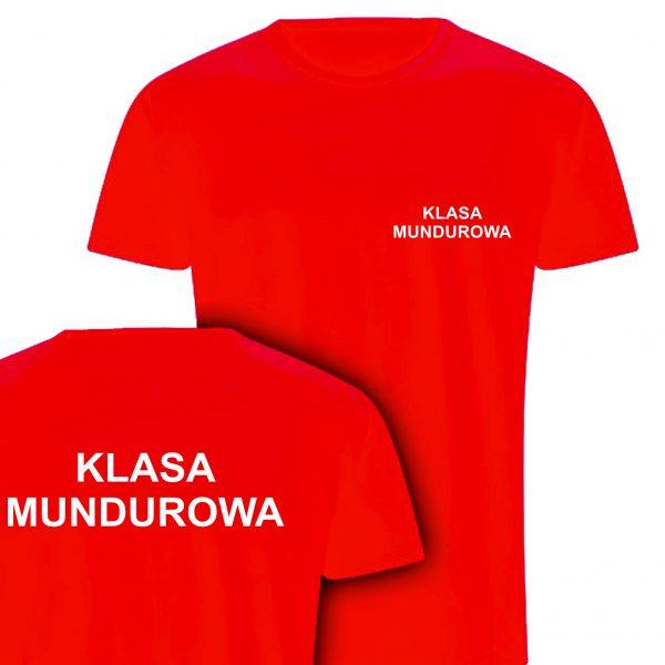 Koszulka czerwona KLASA MUNDUROWA
