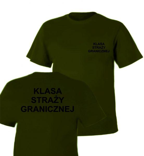 Koszulka Olive KLASA STRAŻY GRANICZNEJ