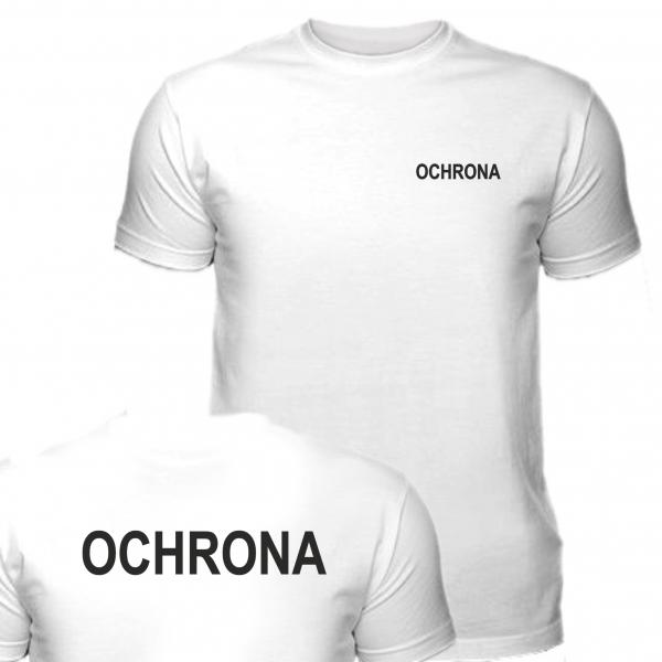 Koszulka Biała OCHRONA