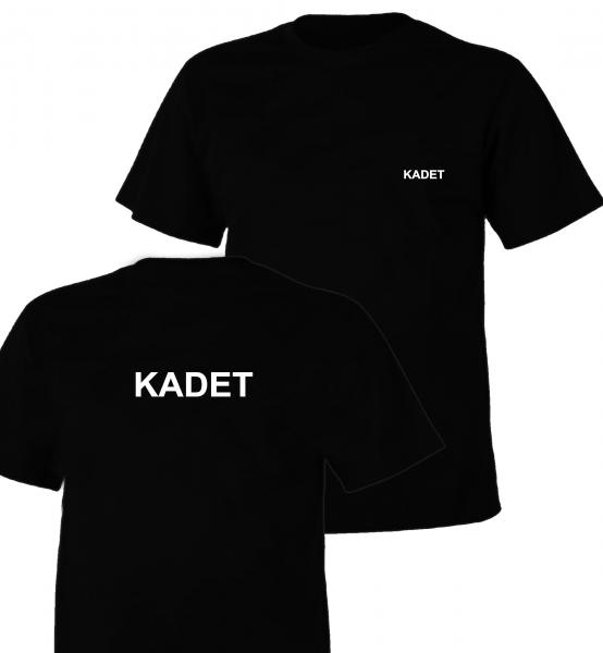 Koszulka czarna KADET