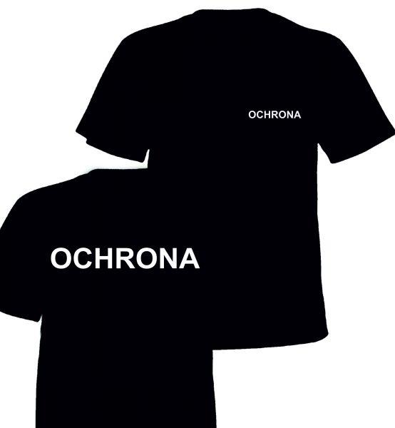 Koszulka Czarna OCHRONA