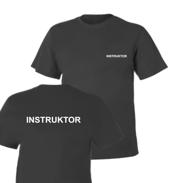 Koszulka szara INSTRUKTOR