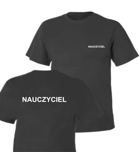 Koszulka szara NAUCZYCIEL
