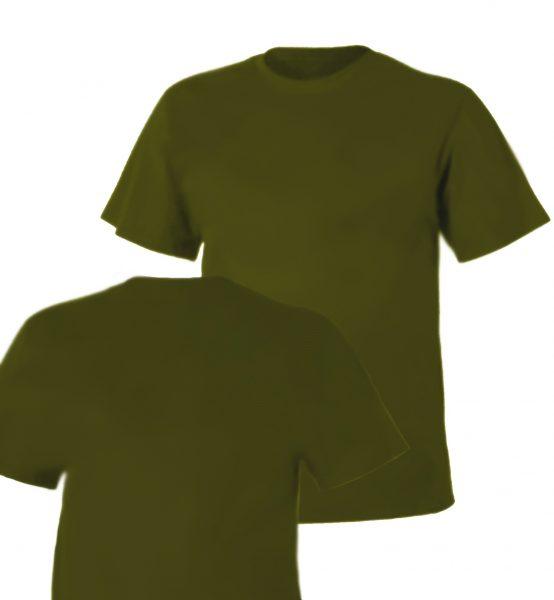 Koszulka Bawełniana Olive