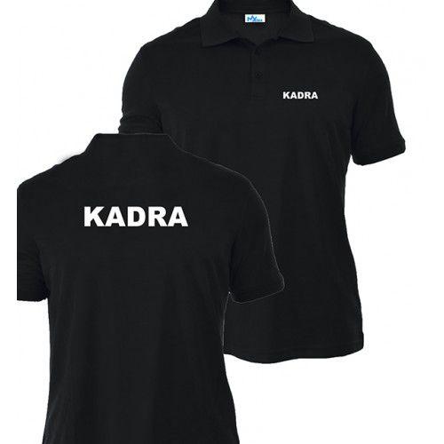 Koszulka Polo Czarna KADRA