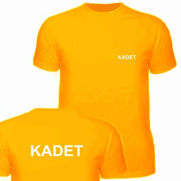 Koszulka pomarańczowa KADET