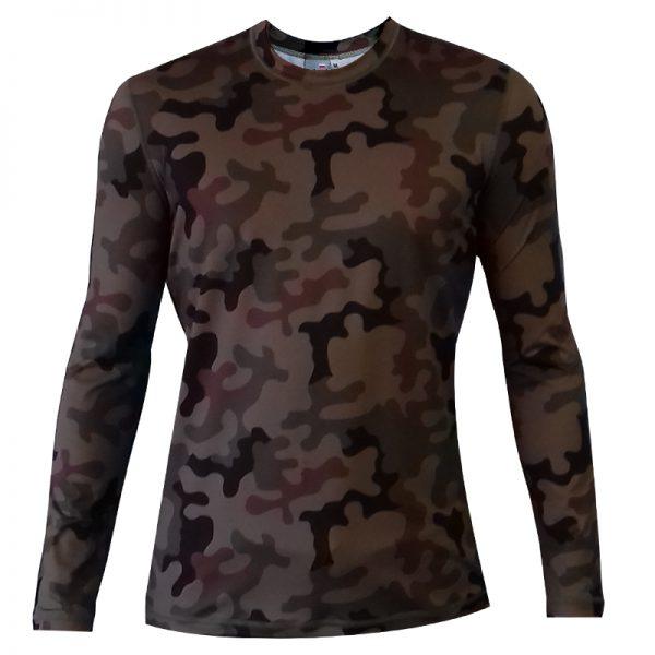 Koszulka termoaktywna z długim rękawem Haasta PL Woodland