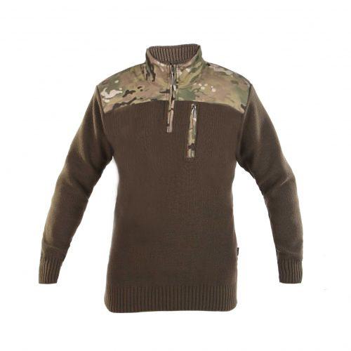 Sweter Haasta Olive/Multicamo