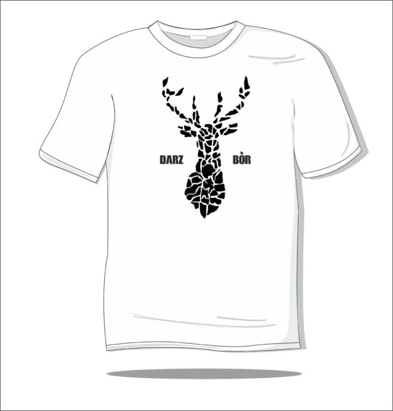 Koszulka z nadrukiem Darz Bór