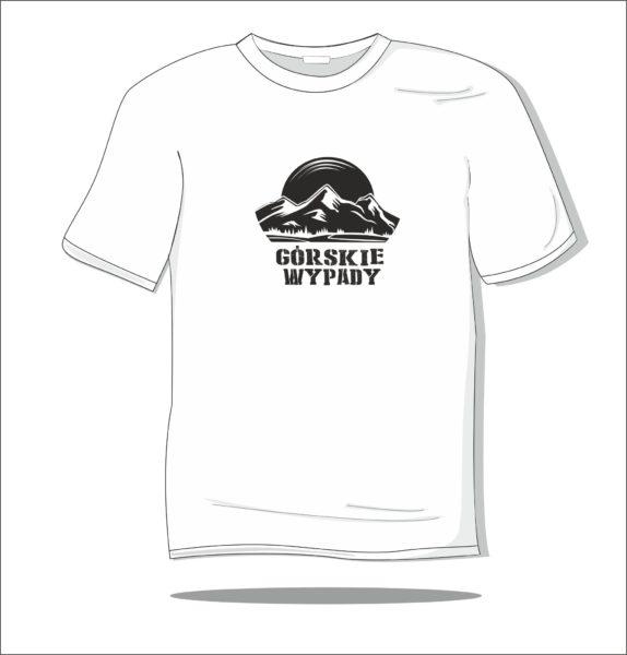 Koszulka z nadrukiem Górskie wypady