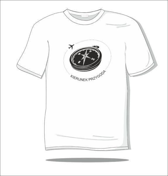Koszulka z nadrukiem Kierunek przygoda