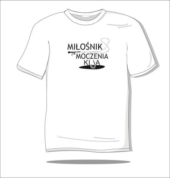Koszulka z nadrukiem Miłośnik moczenia kija