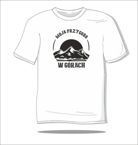 Koszulka z nadrukiem Moja przygoda w górach