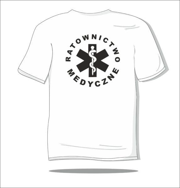 Koszulka z nadrukiem Ratownictwo Medyczne