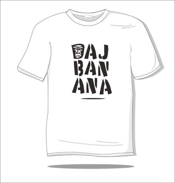 Koszulka z nadrukiem Daj banana