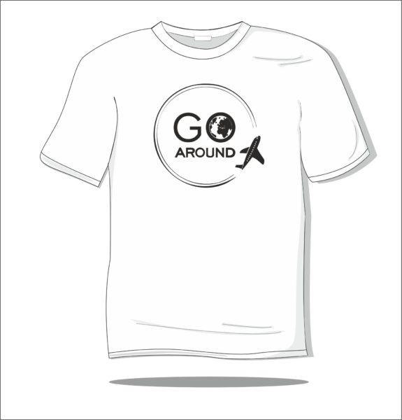 Koszulka z nadrukiem Go Around