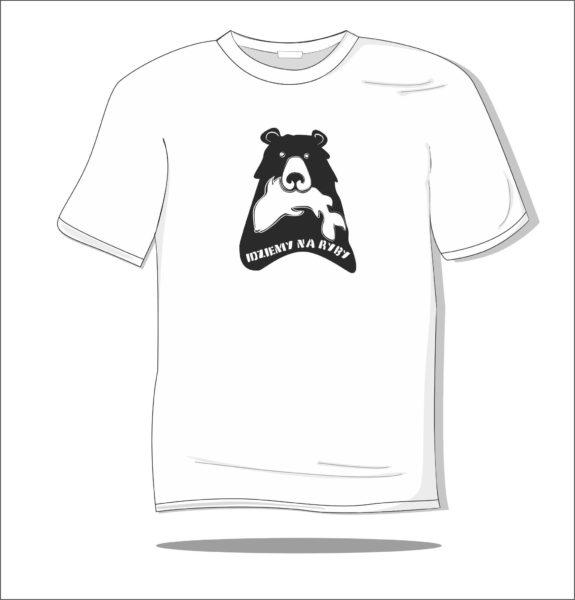 Koszulka z nadrukiem Idziemy na ryby