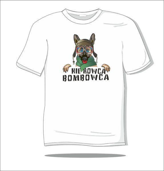 Koszulka z nadrukiem kolorowym Kierowca bombowca
