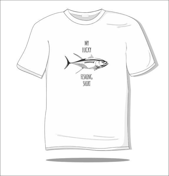 Koszulka z nadrukiem Ryba na szczęście