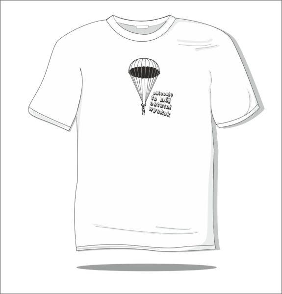 Koszulka z nadrukiem Ostatni wyskok